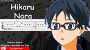 Shigatsu wa Kimi no Uso OP 1 - Hikaru Nara Guitar Tutorial