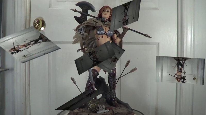 Sideshow Collectibles Red Sonja Queen of Scavengers Exclusive Premium Format Statue