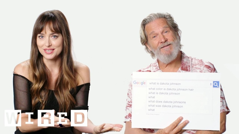 Dakota Johnson Jeff Bridges Answer the Web's Most Searched Questions WIRED