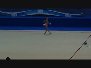 Анастасия Симакова - мяч (финал многоборья) // Первенство России, Казань