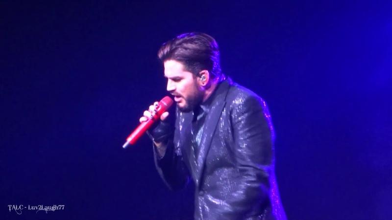 Q ueen Adam Lambert - I Want to B reak Free - Park Theater - Las Vegas - 9.22.18