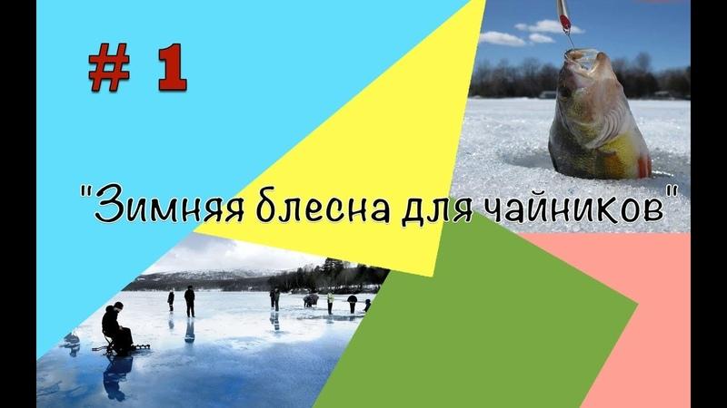 Зимняя блесна для чайников и не только! урок 1 » Freewka.com - Смотреть онлайн в хорощем качестве