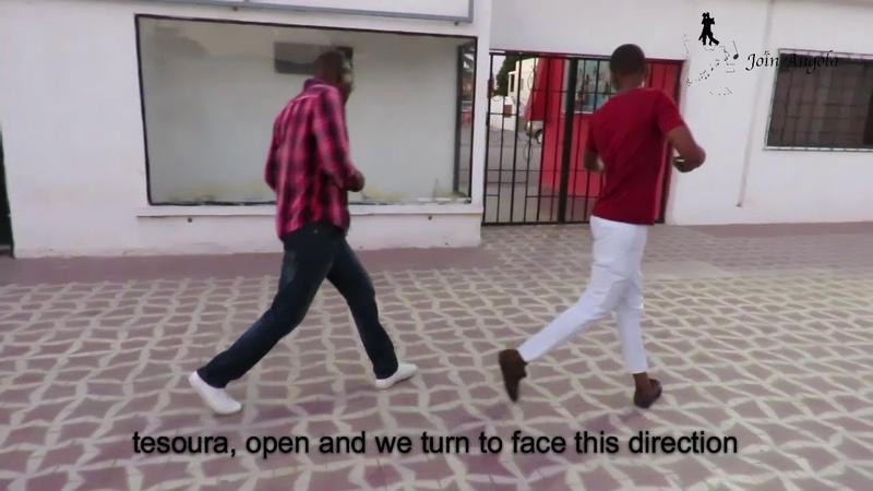 Step 3 sequence 1 Kizomba Semba lessons