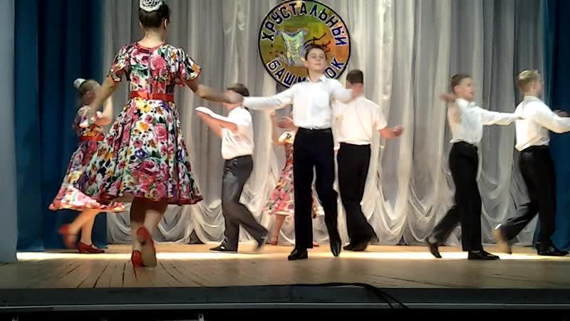 Лирический танец Сударушка