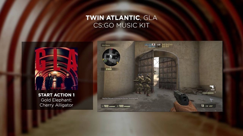 Twin Atlantic, GLA - Counter-Strike: Global Offensive (CS:GO) Music Kit | Red Bull Records