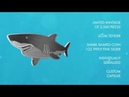 2019 Solomon Islands 1 Ounce Hunters of the Deep Great White Shark 9999 Shaped Silver Coin