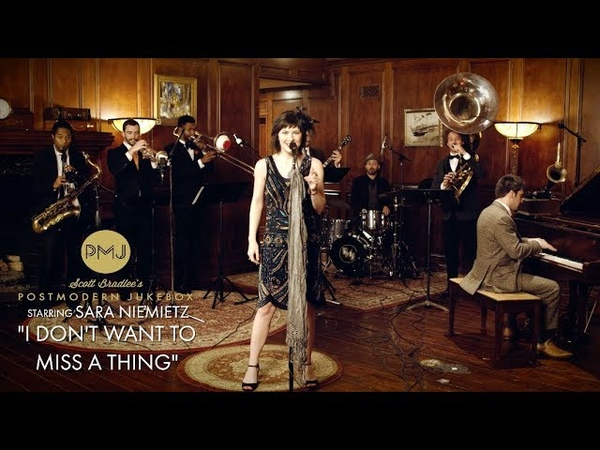 I Don't Want To Miss A Thing - Aerosmith (1920s Brass Band Cover) ft. Sara Niemietz