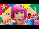 Right Left Kind of Day Action Song for Kids Left and Right Education Videos For Kids