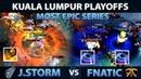 FNATIC vs J.STORM - MOST EPIC Series of Kuala Lumpur Major - Non-Stop Blackhole - Dota 2