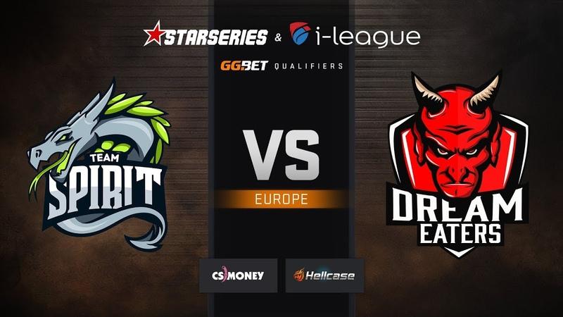 Spirit vs DreamEaters map 1 cache StarSeries i League CS GO S7 EU Qualifier