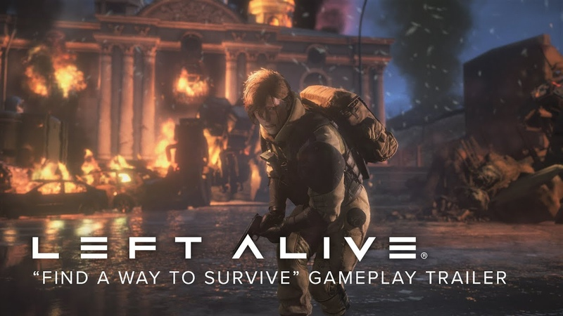 "LEFT ALIVE - ""Find a Way to Survive"" Gameplay Trailer"