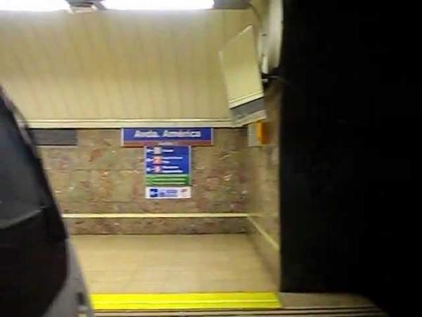 Metro de Madrid - Línea 4 - Diego de León - Avenida de America