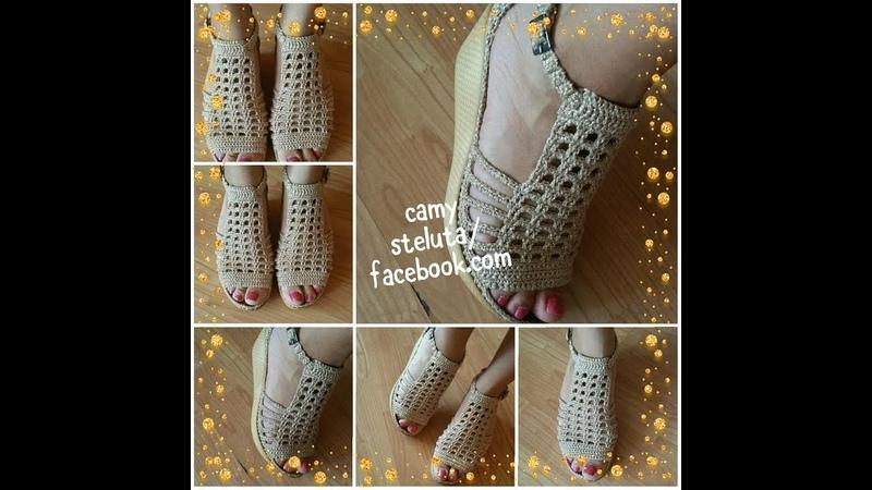 Crosetam sandale de dama MIO-partea 1