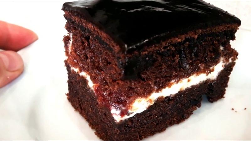 Самый влажный и пышный бисквит для ленивых The moist and lush cake for lazy