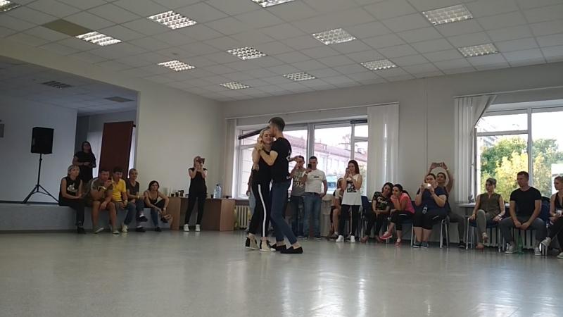 Александра Сирото и Артем Левин МК Курск