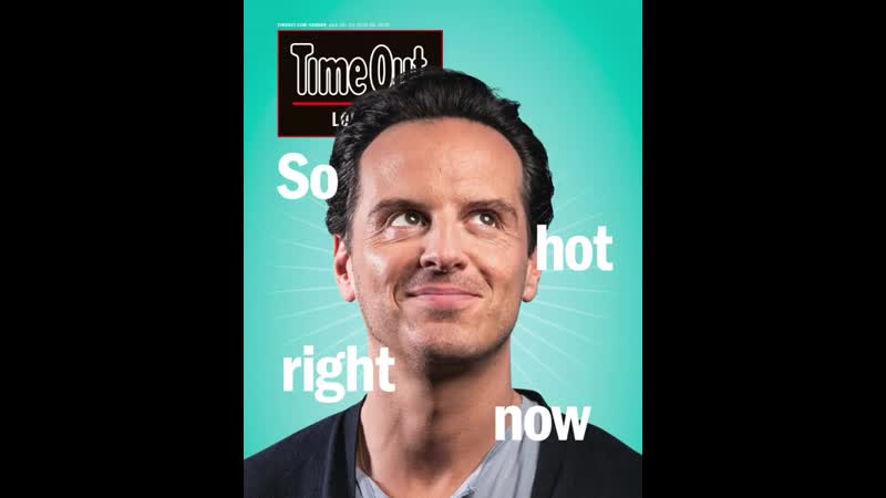 London Time Out Magazine 18th June 2019 Andrew Scott Cover Interview