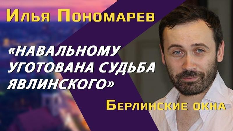 Илья Пономарев: о Навальном и Зеленском, бизнесе при Путине и жизни в Украине