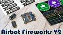 ✔ Полетный Контроллер Airbot Omnibus Fireworks V2 Регуляторы Airbot Wraith32 Mini V2 35A ESC!