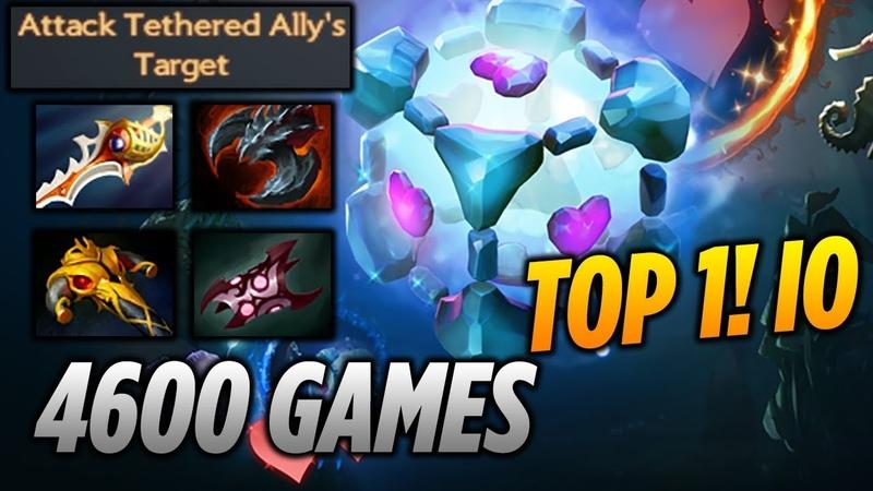 Gii IO 4600 WISP GAMES [TOP 1 IO] Dota 2