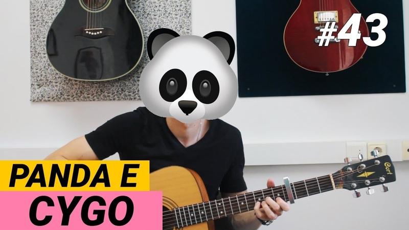 Ваня научи 43 PANDA E CYGO разбор на гитаре ТАБЫ Аккорды Фингерстайл