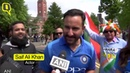 Actor Saif Ali Khan on India vs Pakistan Clash at ICC World Cup 2019 (720P_HD)