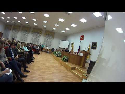 Встреча с и.о. главы городского округа города Переславля-Залесского В.А. Астраханцевым