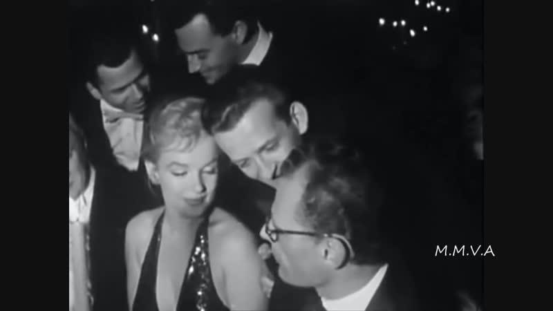 Мэрилин Монро. Париж 1957г