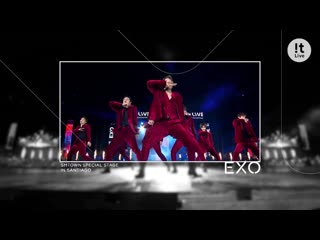 [!t LIVE] 190308 SPECIAL STAGE in SANTIAGO @ EXO