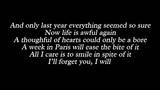 Lady Gaga - Lush Life (Lyrics)