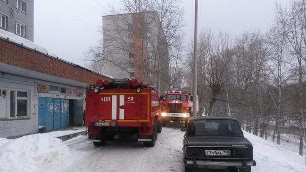 Пожар 8.03.2019 в доме №20 по ул. Наймушина