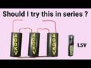1.5V, 3 × 400KV module in series | JLCPCB