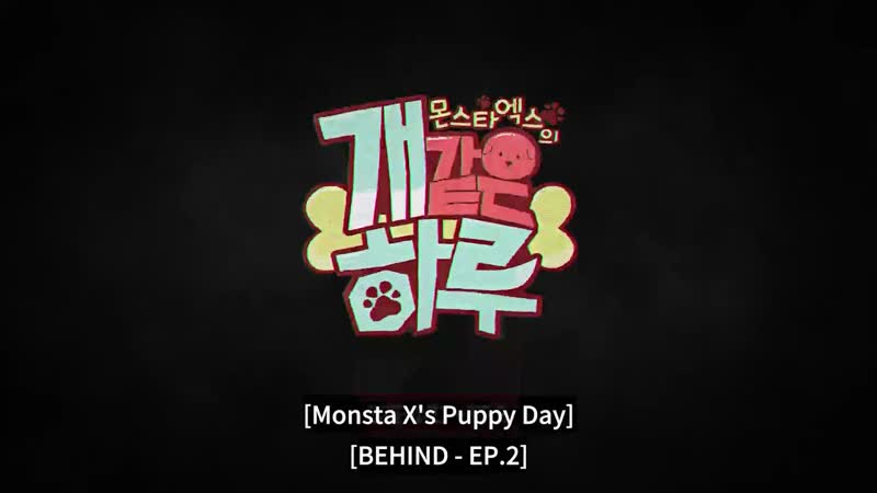 VK 190712 MONSTA X Back Stage Ep 3 4 ENG SUB @ Monsta X's Puppy Day