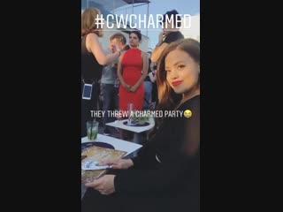 Сара Джеффри из Instagram I Comic Con 2018