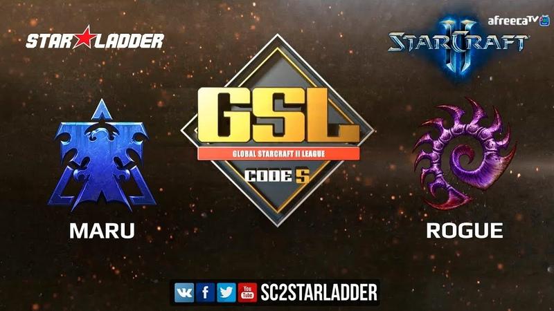 2018 GSL Season 2 Ro8 Match 1: Maru (T) vs Rogue (Z)