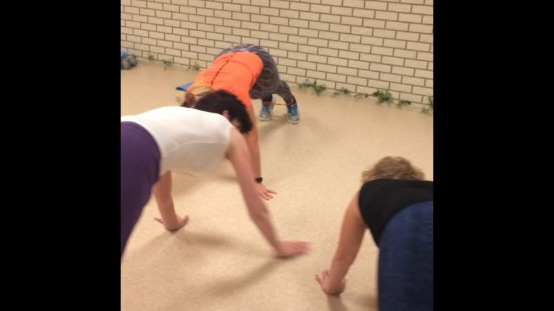 Силовой фитнес с Анной Елиной в BARRIO