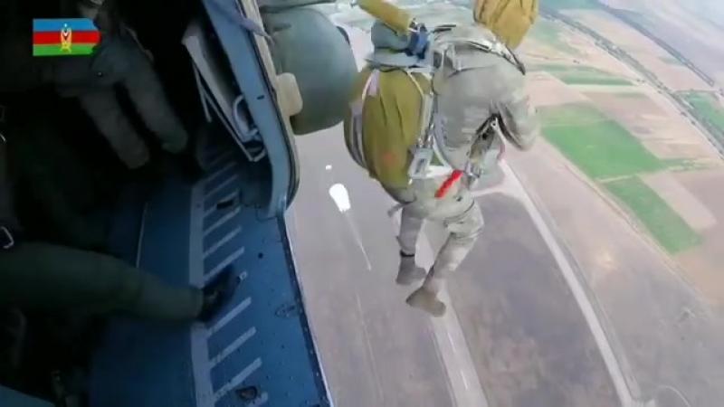 Высадка десанта ВС Азербайджана.