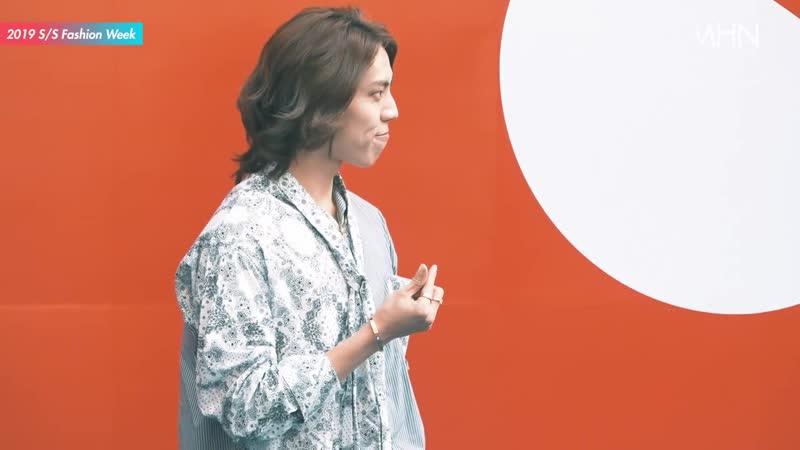 [16.10.18] Дону на показе R.SHEMISTE в рамках Сеульской недели моды | Новостное видео от портала MHN