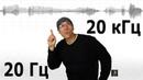 Легенда о 20 Гц и 20 кГц Почему такой диапазон