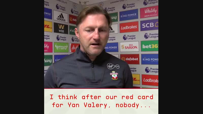 Get the thoughts of SaintsFC boss Ralph Hasenhüttl after his side stood tall with ten men to earn a vital PL victory at LCFC! .m