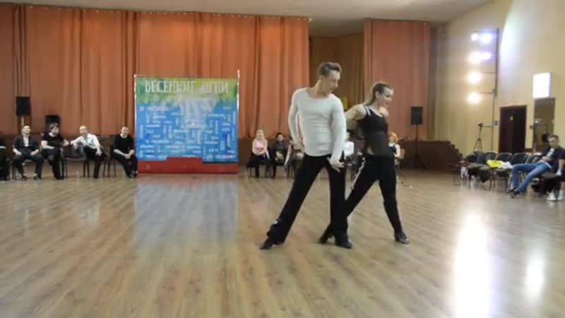 ХАСТЛ Discofox Весенние огни 2019 ДнД Star Ch финал fast Макарчук Александ и Степочкина Яна