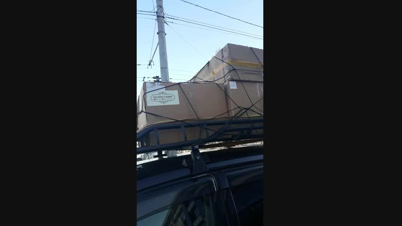 как выглядит коробка кроватки !