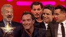 Johnny Depp, Eddie Redmayne, Jude Law Colin Farrell from Fantastic Beasts 2 on Graham Norton