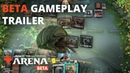 Magic The Gathering Arena Beta Gameplay Trailer Official
