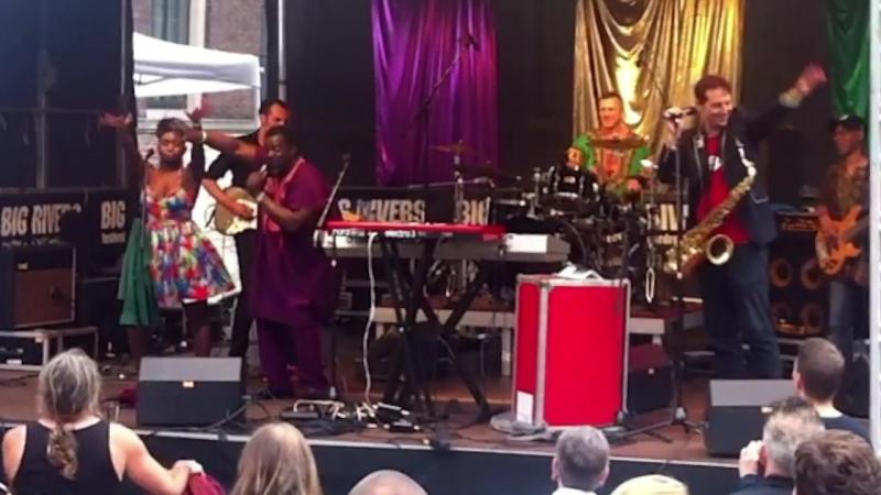 Dele Sosimi Afrobeat Orchestra Live @ Big Rivers 2017
