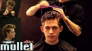How to mullet haircut tutorial men curly hair