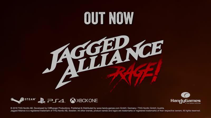 Релизный трейлер Jagged Alliance Rage!