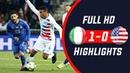 Italy vs USA 1-0 Highlights All Goals 20/11/2018 HD