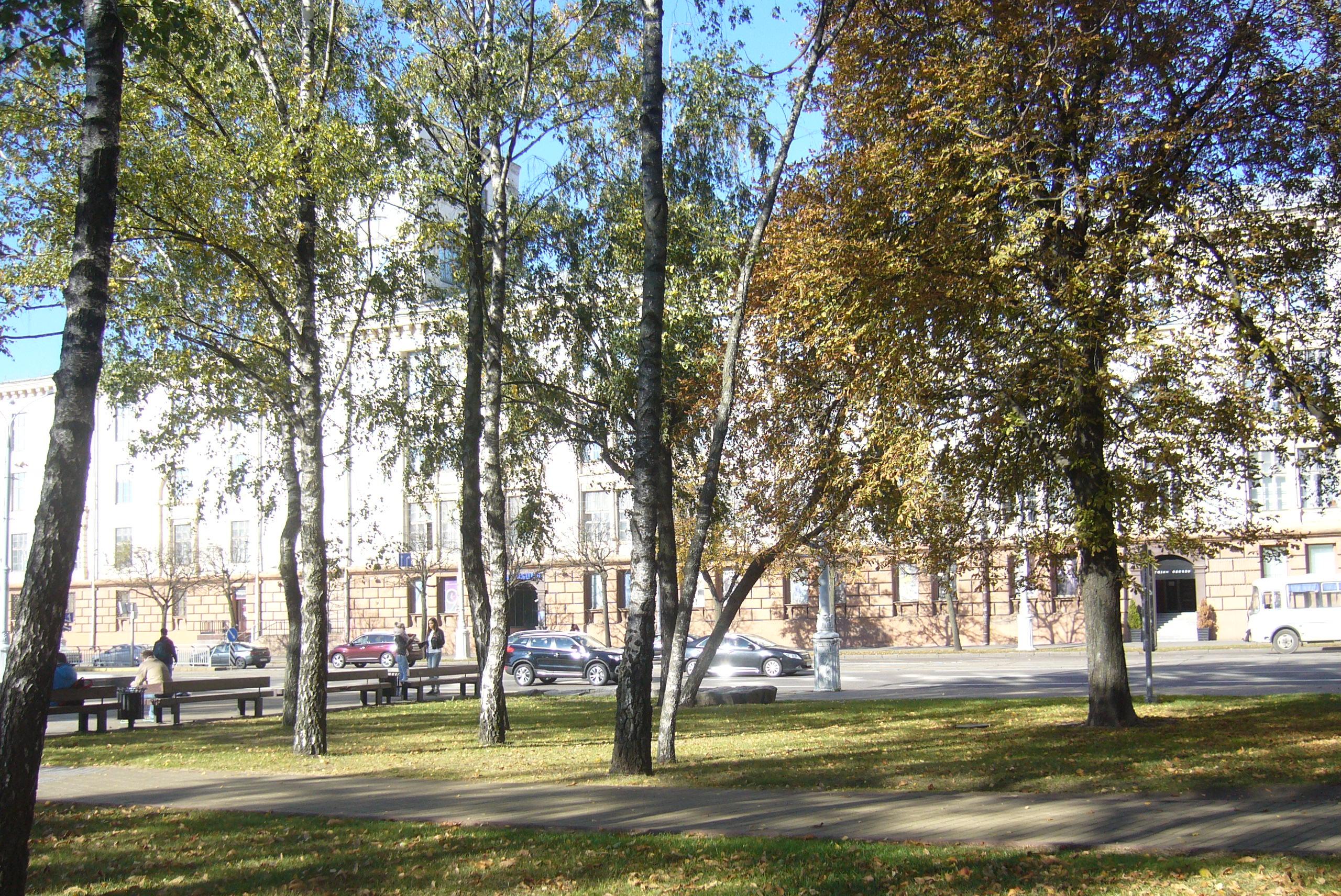 Осенне-летнее настроение в городе