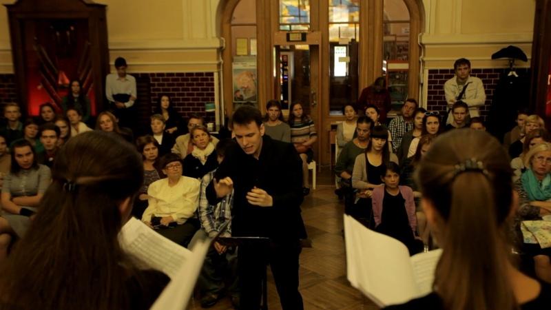 Pēteris Vasks Zīles ziņa. Chamber choir Festino. Cond.Zhurilov Daniil