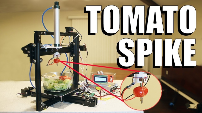 A Robot That Picks Tomatoes Out of Your Salad